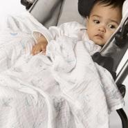 包邮包税!【中亚Prime会员】SwaddleDesigns Muslin细棉婴儿包巾 4条装