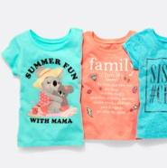 The Children's Place:美国官网男、女童图案T恤