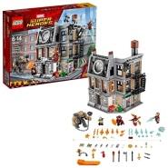 【美亚自营】Lego 乐高超级英雄系列 复仇者联盟无限战争 76108 奇异博士至圣所大对决