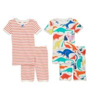 MINI BODEN  2-Pack Fitted Two-Piece Pajamas 两件装合身睡衣