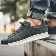 橄榄绿色好价!【美亚自营】adidas Originals 三叶草 Superstar 男士经典贝壳头休闲鞋
