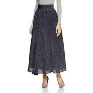 超低价!【日本亚马逊】Lily Brown 褶皱长款裙子