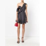 澳洲品牌 ZIMMERMANN 不对称波点连衣裙