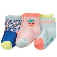 Carter's 3-Pack Crew Socks 三双装女童袜