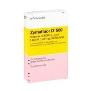 德国直邮!Zymafluor 维生素D500营养片 90片