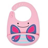 史低价!四色可选~【美亚直邮】Skip Hop 可爱动物图案 婴幼儿防水围嘴