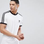 凑单2件包邮!adidas 阿迪达斯 adicolor California 男士三条杠T恤