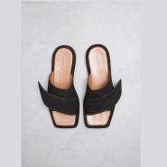 韩裔设计师 同名品牌 REJINA PYO Dara Slipper 方头拖鞋