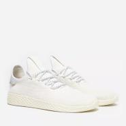 Adidas Originals x Pharrell 合作款 Tennis HU 白色男士运动鞋
