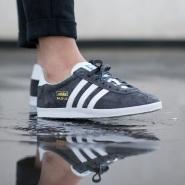 【美亚自营】Adidas 阿迪达斯 Gazelle 中性麂皮复古板鞋 大童款