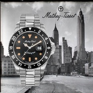 Mathey-Tissot 精天梭 Rolly Vintage 系列 男士自动机械腕表 6款可选