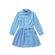 Ralph Lauren Striped Shirtdress 拉夫劳伦 女童 衬衫裙