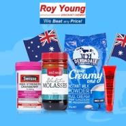 【支付宝日】Roy Young 中文网:精选澳洲食品保健、母婴用品等