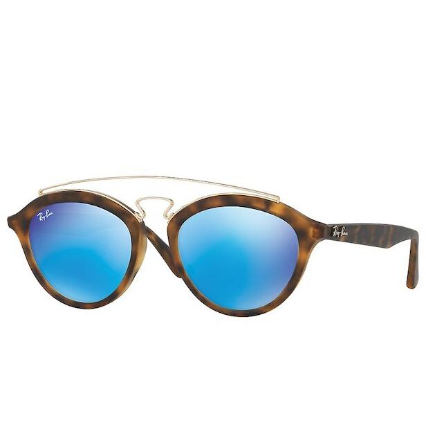 Ray-Ban 雷朋蓝色镜片太阳镜