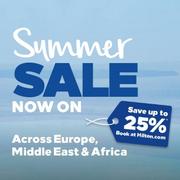 夏日大促~Hilton:精選 歐洲、中東和非洲希爾頓酒店