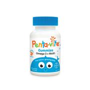 【任意3件首重免郵中國】Penta-Vite Omega-3 兒童復合維生素軟糖 60粒