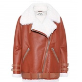 反季囤~Acne Studios Velocite leather jacket 焦糖色夾克