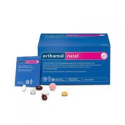 運費最高享5折!Orthomol 奧適寶 Natal 孕期及產后綜合營養片 30天