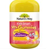 【免郵中國】Nature's Way 佳思敏復合維生素兒童軟糖 60粒