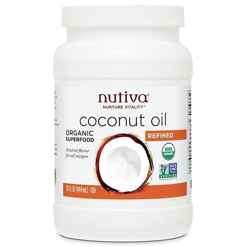 【9折】Nutiva 有機椰子油 444ml