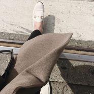 【大码福利!反向海淘超划算!】Gucci 古驰 Brixton 经典款乐福鞋 白色