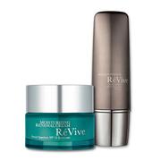 Revive 利維膚 潤澤更新日霜+高效抗老化緊致防曬乳 護膚套裝