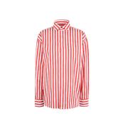 【經典百搭】POLO RALPH LAUREN 紅色條紋襯衫
