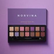 【新品】1件直邮到手!Anastasia Beverly Hills Novina 紫色系14色眼影盘