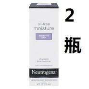 【美亚直邮】Neutrogena 露得清 无油保湿乳液 痘痘敏感肌适用 118ml*2瓶