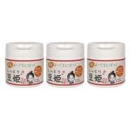 【日本亚马逊】日本本家豆花庵 豆姬酸奶面膜 150gX3 套装
