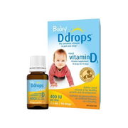 【滿減$8+免郵中國】Ddrops 嬰兒維生素D3滴劑 90滴