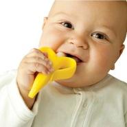 【中亚Prime会员】Baby Banana 香蕉宝宝 婴儿牙胶硅胶咬牙棒