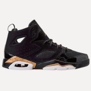 【黄金码全!季末大促进行时】Air Jordan 乔丹 Flight Club '91 篮球鞋 大童款