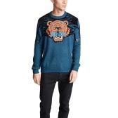 【新款上架】KENZO 藍色印花經典款毛衣