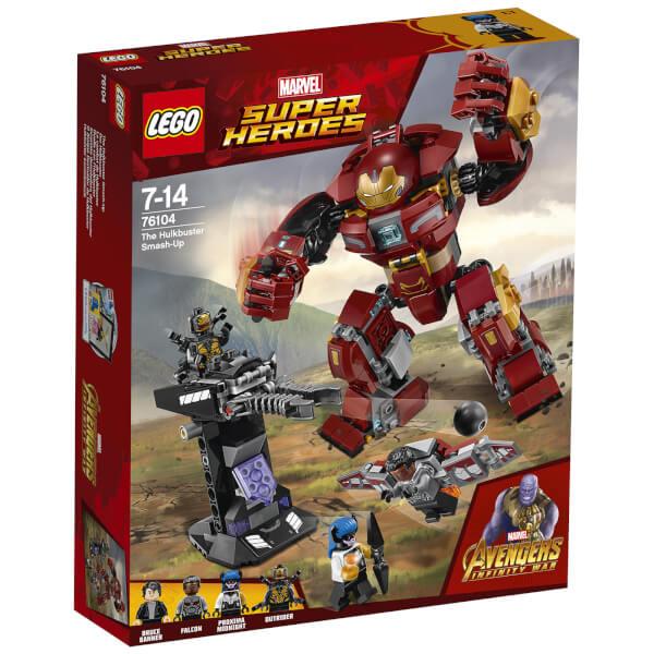 【中亞Prime會員】LEGO 樂高 漫威超級英雄系列 鋼鐵俠反浩克裝甲 76104