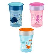 三色可選!NUK Magic Cup 魔術杯 360°任意角度喝水