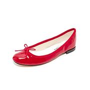 Repetto Cendrillon 紅色漆皮芭蕾舞平底鞋