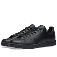 【新用户首单立减$5】Adidas Originals 三叶草 Stan Smith 经典小绿尾运动鞋 全黑款