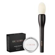 Rae Morris 明星產品套裝 透明啞光定妝蜜粉餅+化妝刷套裝