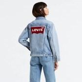 Levi's 女士 Logo 牛仔夾克