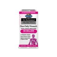 【额外8.5折】Garden of Life Dr. Formulated 女性每日益生菌 500亿 30粒