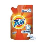 凑单品:Tide 汰渍 全效360度洗衣液 洁雅百合 500g*2件
