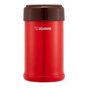 2件9.5折!【中亞Prime會員】Zojirushi 象印 不銹鋼燜燒杯 750ml SW-JA75-RV 番茄紅色