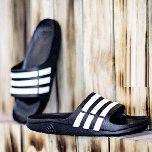 【日本亞馬遜】Adidas 阿迪達斯 Duramo 中性款拖鞋 G95489 多色可選