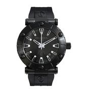 Charriol 夏利豪 Rotonde 系列 全黑圓形表盤男士簡約腕表 RT425.142.205
