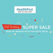 【2018黑五】Healthpost:全場食品保健、母嬰用品等