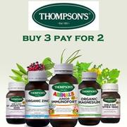 買3付2!Healthpost:精選 Thompson's 湯普森葡萄籽、月見草等