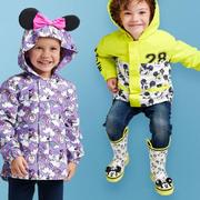 【上新】Disney 迪士尼:精選可愛卡通元素兒童雨衣、雨靴