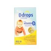 【4件0稅免郵】Ddrops 嬰兒液體維生素D3滴劑 400IU 2.5ml