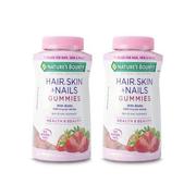 【免郵套裝】Nature's Bounty 自然之寶 發膚甲膠原蛋白軟糖 230粒*2瓶